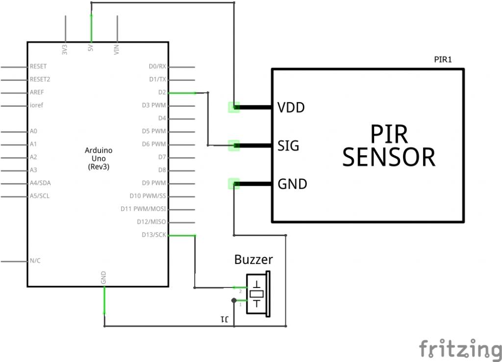 Pir Motion Detector Alarm Pir Motion Sensor Alarm