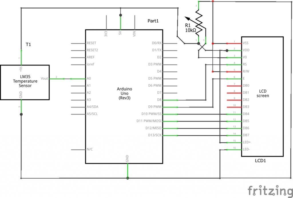 Tremendous Arduino Lm35 Temperature Sensor Project Maxphi Lab Wiring Digital Resources Millslowmaporg
