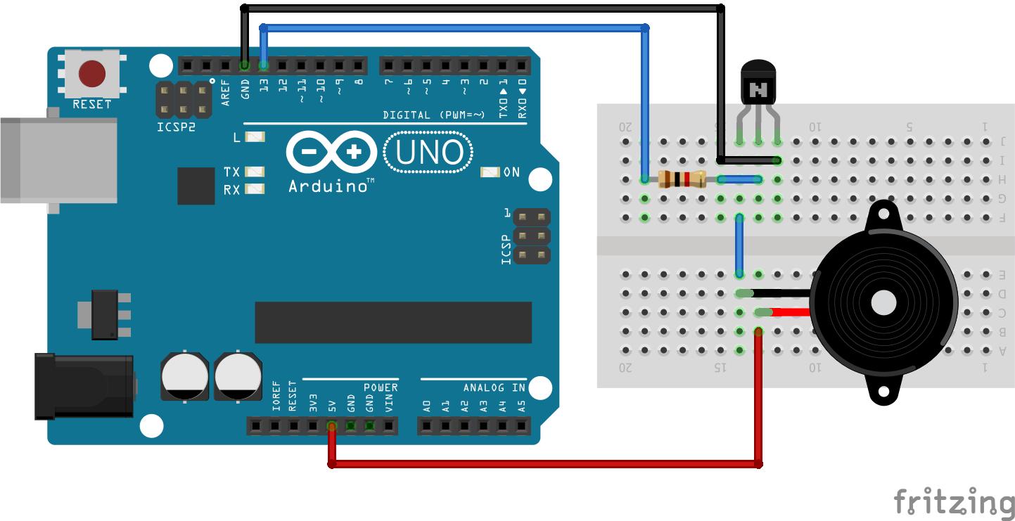 Piezo Buzzer Interfacing With Arduino UNO Tutorial   Maxphi Lab