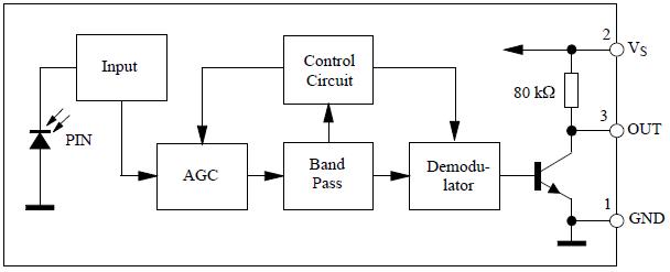 tsop1738 application circuit